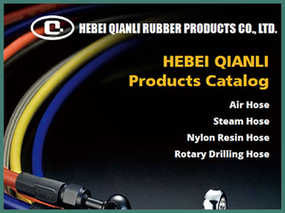 It shows the cover photo of QIANLI products catalog.