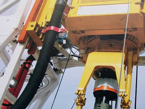 A set of equipment for geological exploration.